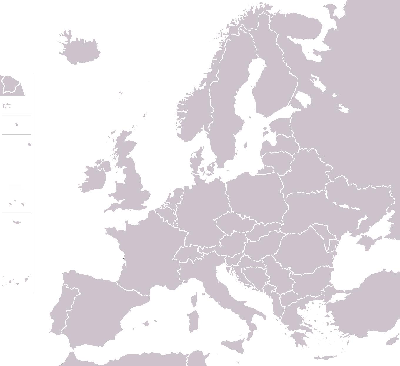 eastern europe printable blank
