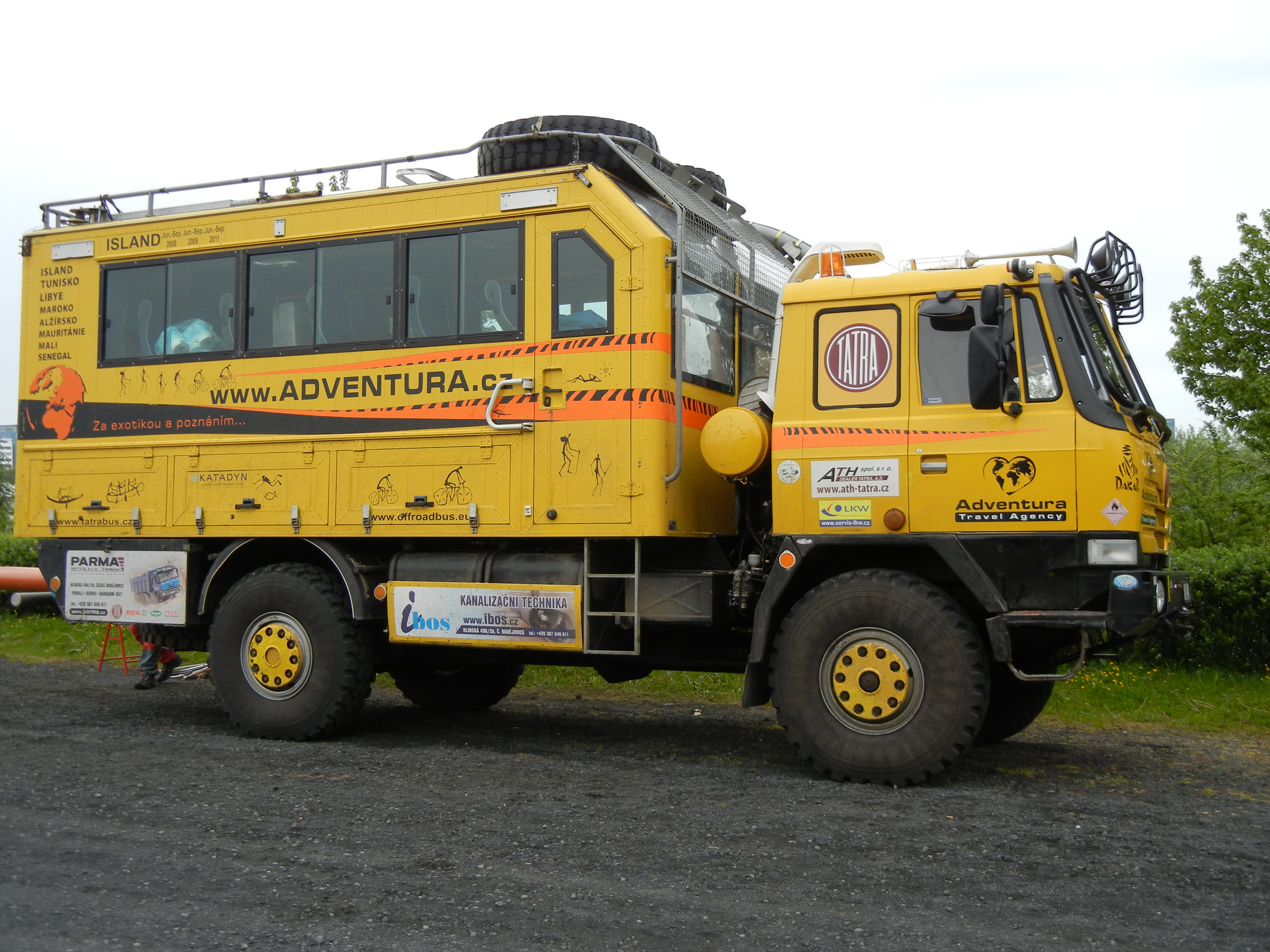 Adventure Trucks in Iceland