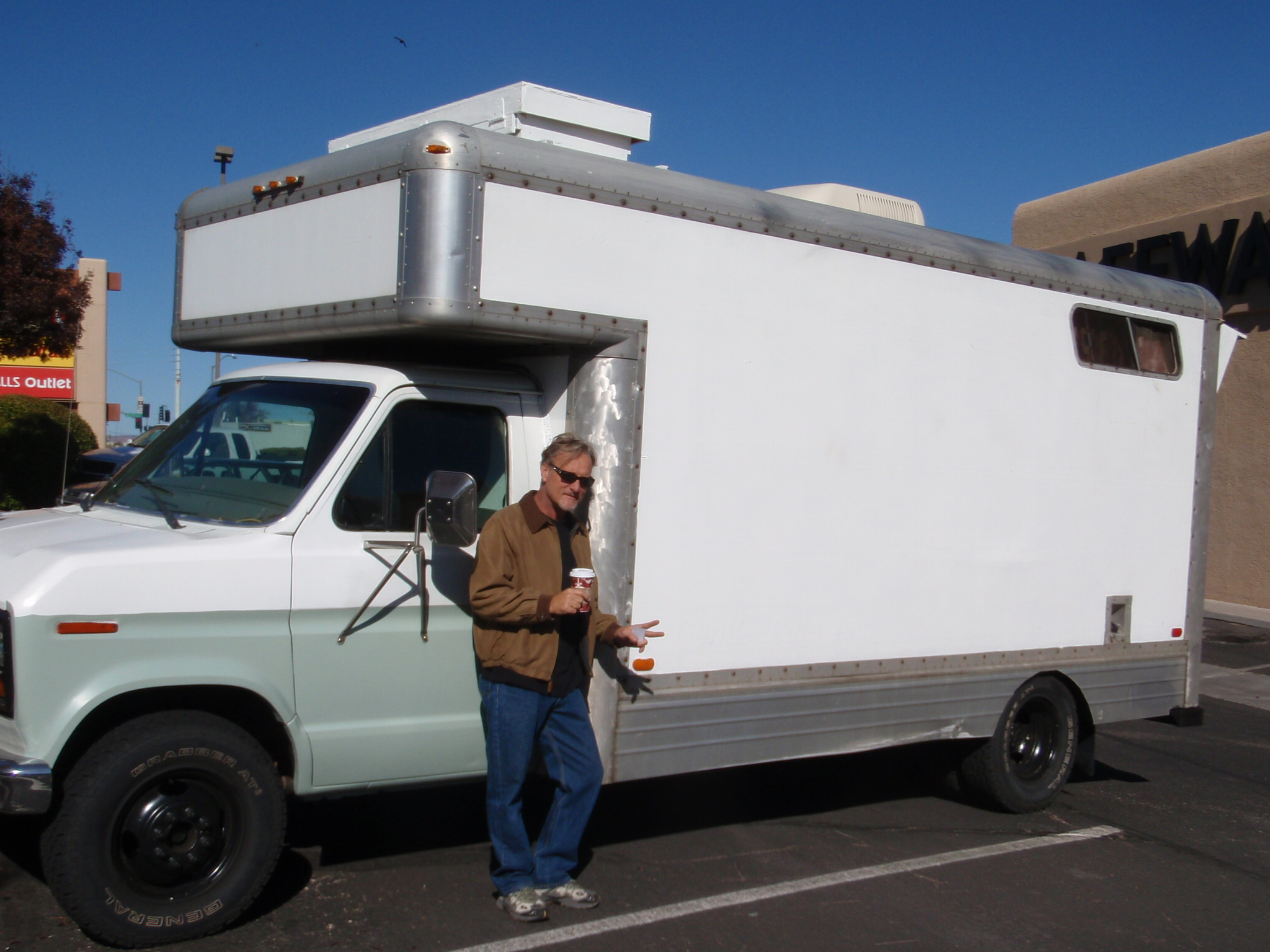 Homemade RV Converted from Moving Truck