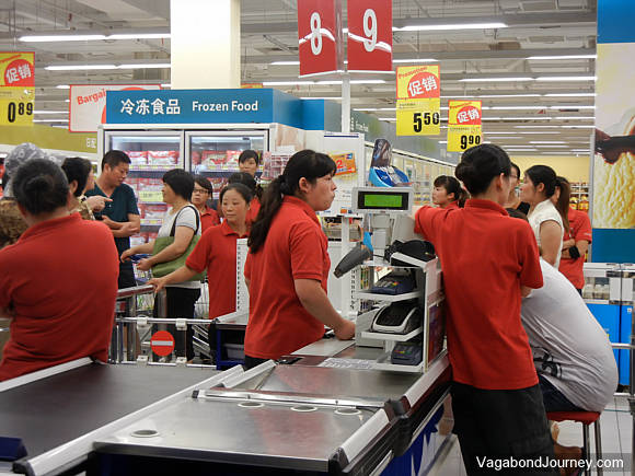 tesco closes another store in china  workers strike in protest